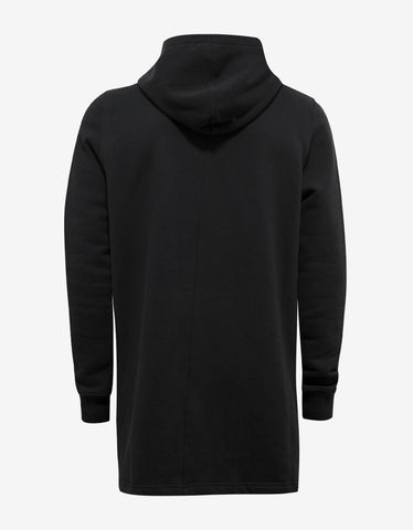 DRKSHDW by Rick Owens Black Hoodie with Embroidered Graphic