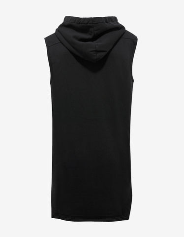 DRKSHDW by Rick Owens Black Moody Sleeveless Hoodie