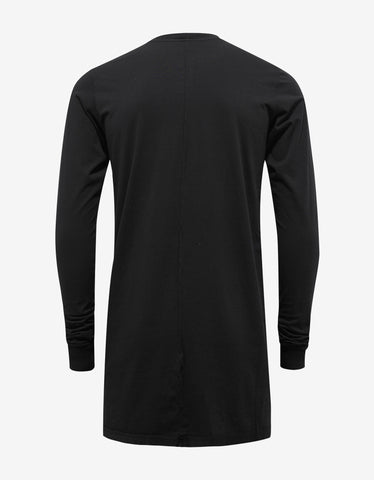 DRKSHDW by Rick Owens Black Pocket LS T-Shirt
