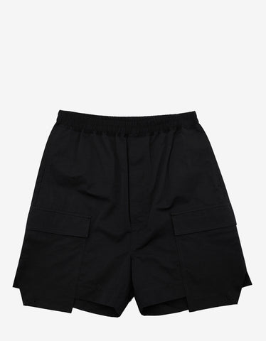 DRKSHDW by Rick Owens Black Cargo Boxers Shorts