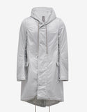 Dinge White Fishtail Parka
