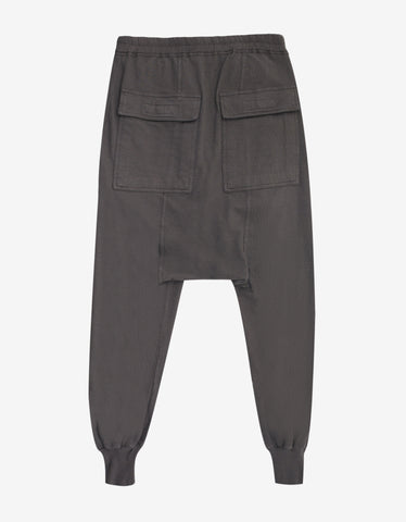 DRKSHDW by Rick Owens Prisoner Drawstring Dark Dust Sweatpants