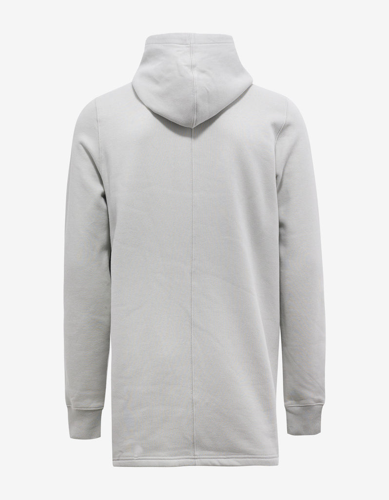 Dinge White Hoodie with Embroidered Graphic