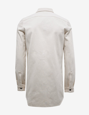 DRKSHDW by Rick Owens Off-White Field Shirt