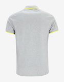 Grey K Fit Tiger Head Polo T-Shirt