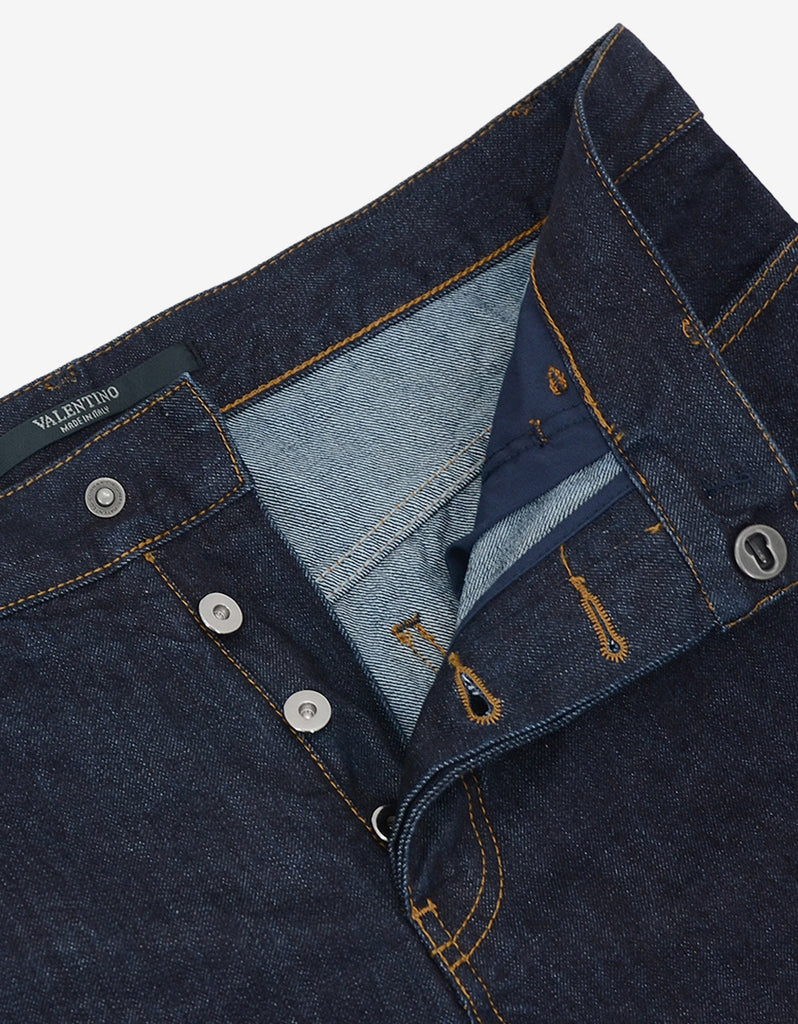 Blue Selvedge Denim Jeans