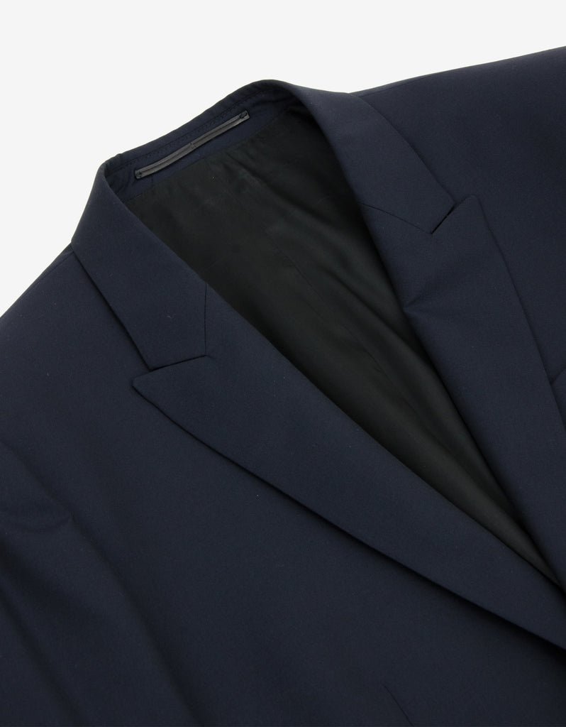 Navy Blue Two-Button Suit