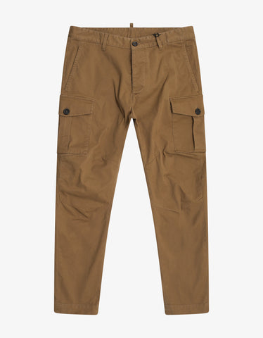 Dsquared2 Beige Cargo Trousers