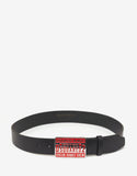 Black Break Dance Crew Buckle Belt