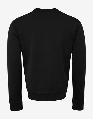 Dsquared2 Black Rough Rider Sweatshirt