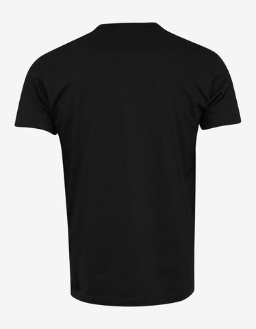 Dsquared2 Black Dsquared2 Box Logo T-Shirt
