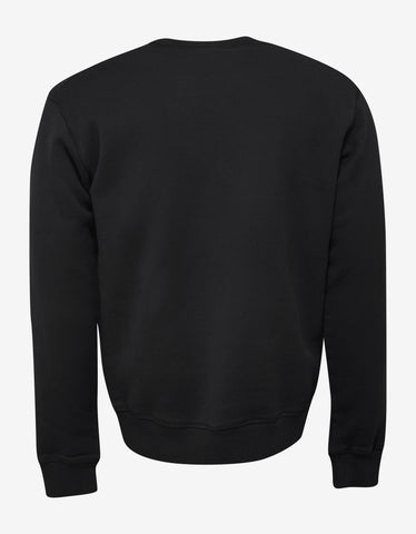 Dsquared2 Black Dsquared2 Logo Sweatshirt