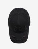 Black Icon & Laurel Baseball Cap