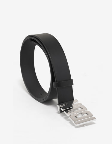 Dsquared2 Black Icon Logo Buckle Belt