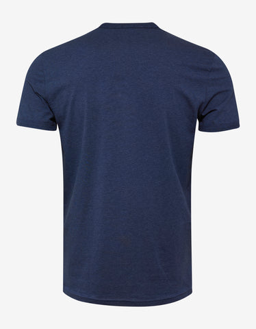 Dsquared2 Blue DSQ2 Sleeve Print T-Shirt