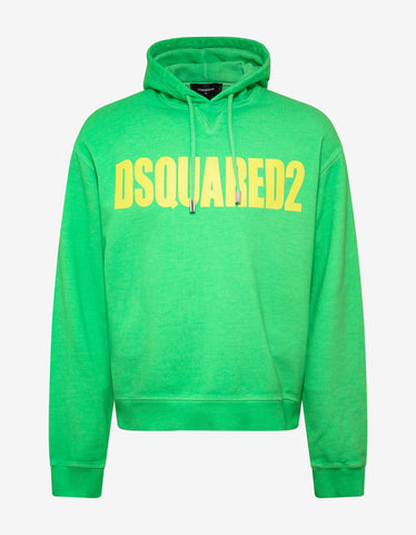 Dsquared2 Green Dsquared2 Print Hoodie