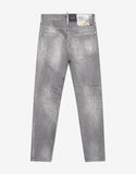 Grey Distressed Cool Guy Jeans