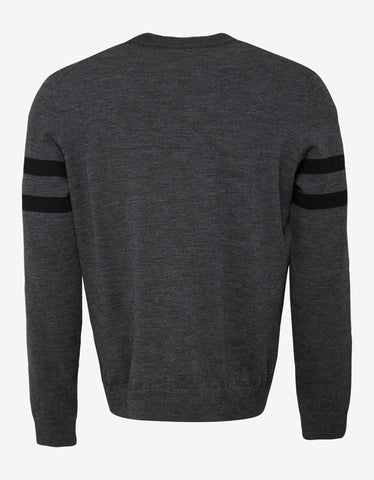 Dsquared2 Grey Icon Wool Sweater