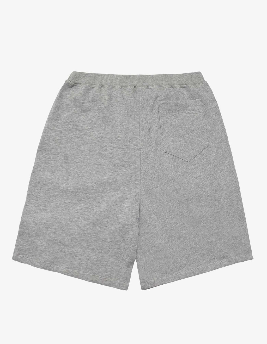 Grey Logo Tape Sweat Shorts