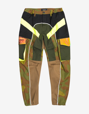 Dsquared2 Multi-Panel Cargo Trousers