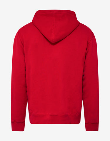 Dsquared2 Red Dsquared2 Print Hoodie