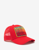 Red Multi-Logo Trucker Hat