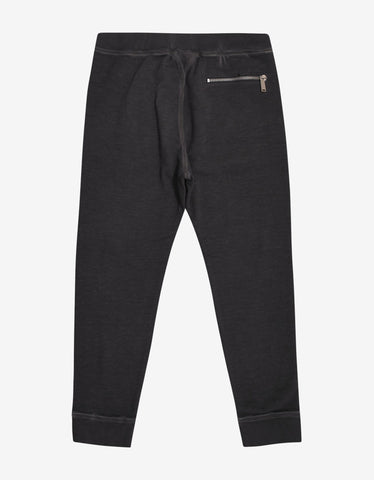 Dsquared2 Wash Grey Tapered Sweat Pants
