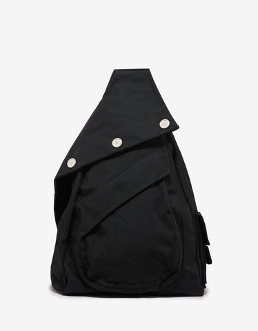 Eastpak x Raf Simons Black Structured Organised Sling Backpack