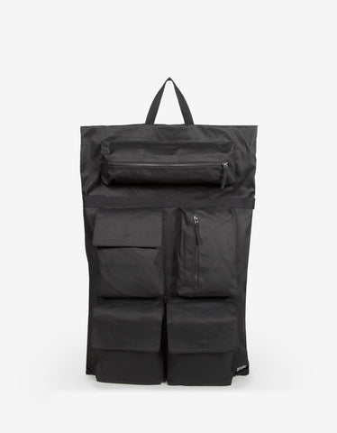 Eastpak x Raf Simons RS Poster Black Satin Punk Couple Backpack