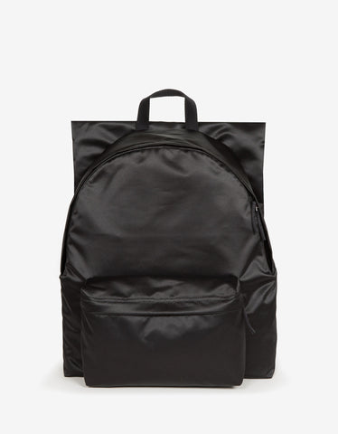 Eastpak x Raf Simons RS Poster Padded Black Satin Punk Backpack