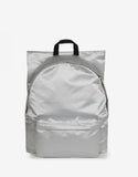 RS Poster Padded Silver Satin Punk Backpack