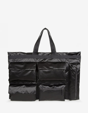 Eastpak x Raf Simons RS Poster Tote Black Satin Punk Bag