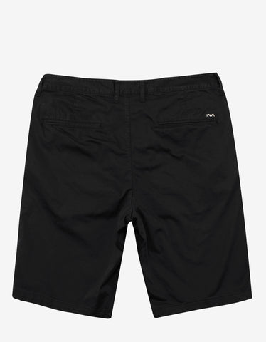 Emporio Armani Black Chino Shorts