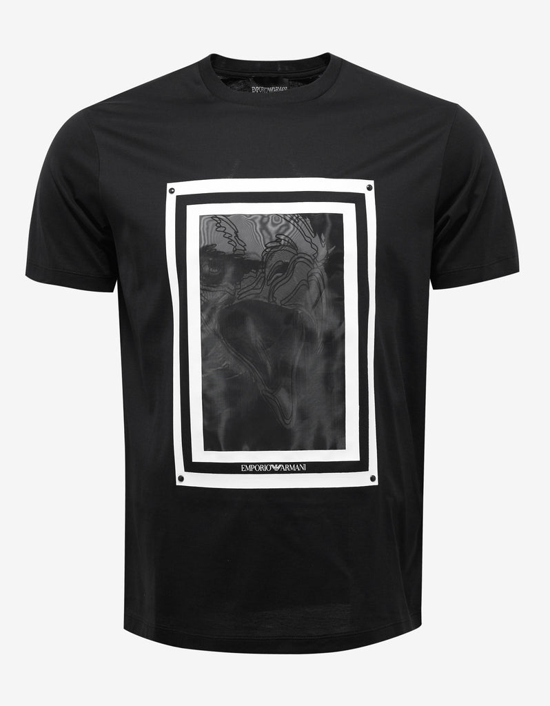 Black Eagle Graphic Print T-Shirt