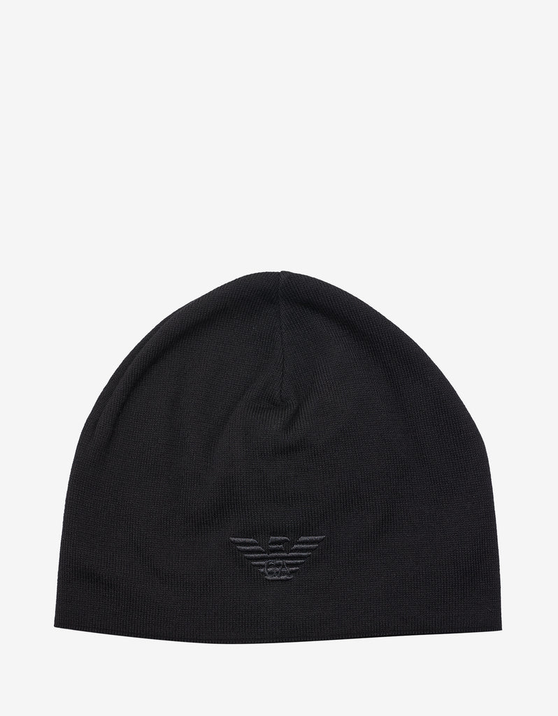 Black Eagle Logo Beanie Hat