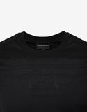 Black Tonal Eagle Logo T-Shirt