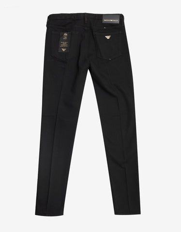 Emporio Armani Black 'Gold Series' Jeans