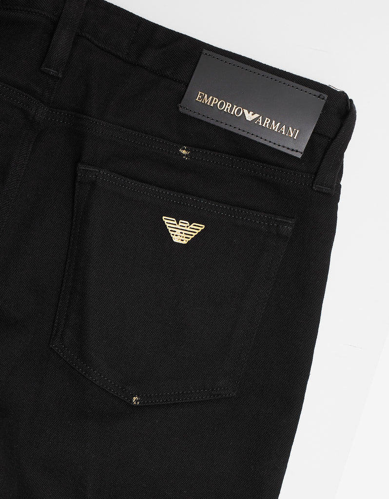 Black 'Gold Series' Jeans