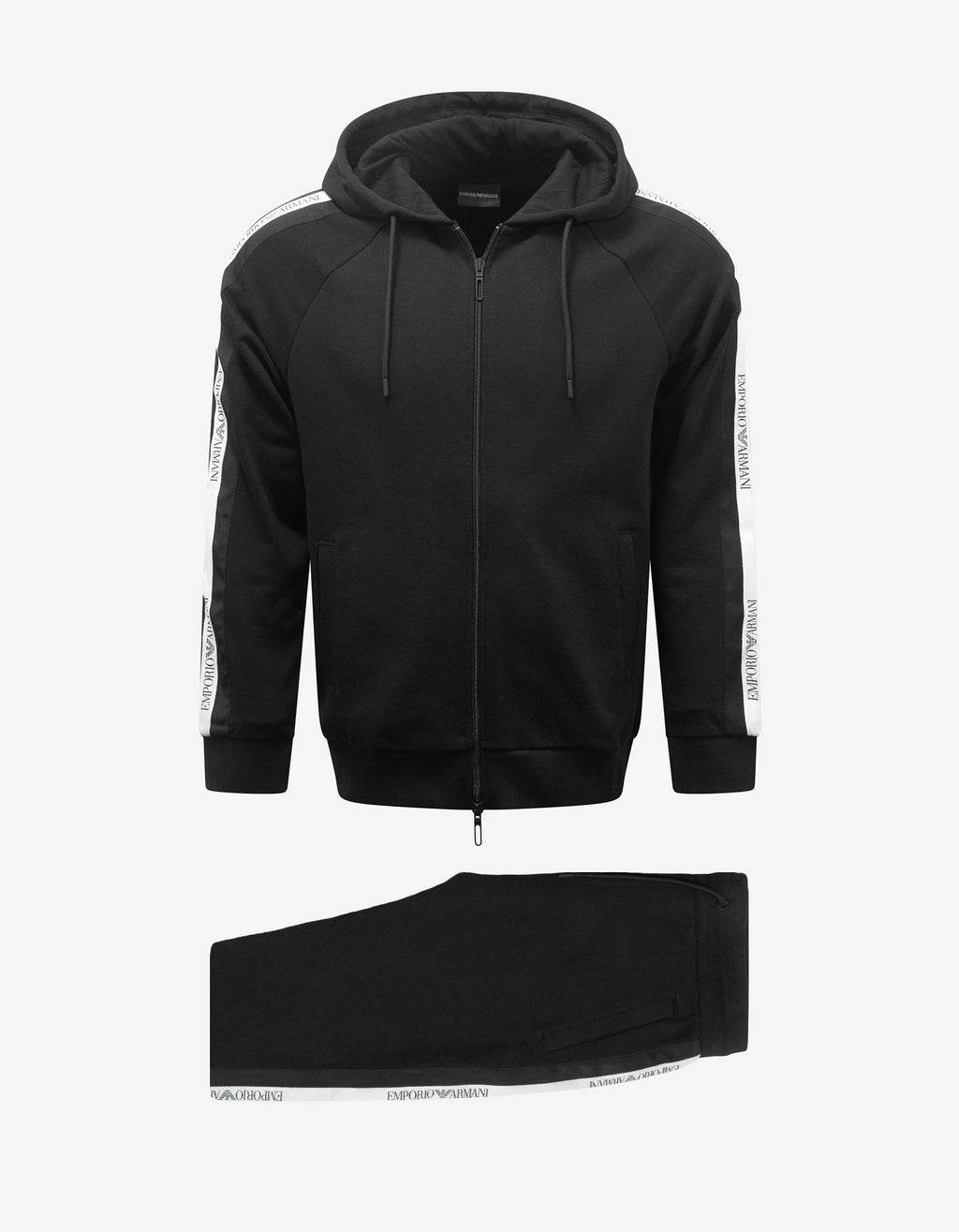 Black Logo Band Tracksuit