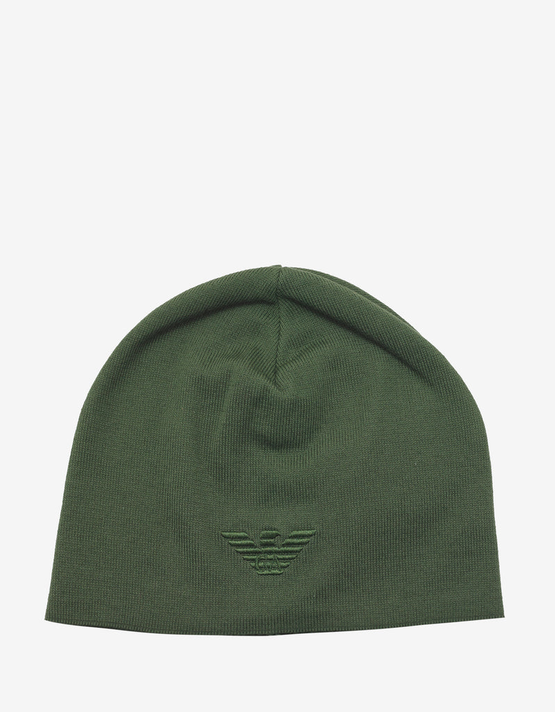 Green Eagle Logo Beanie Hat