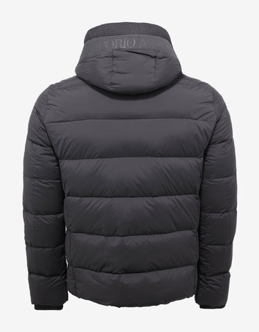 Emporio Armani Grey Down Jacket