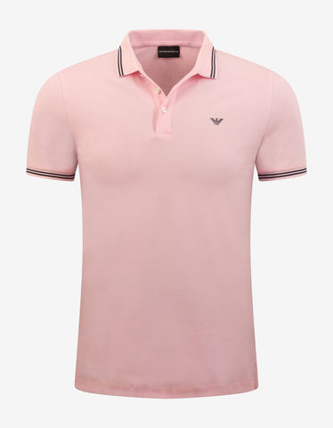 All-Over Logo Print Polo T-Shirt