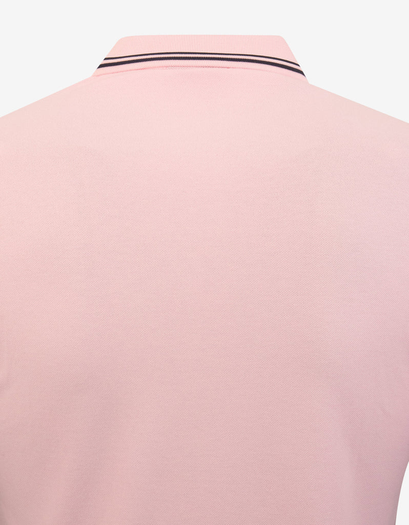 Pink Eagle Logo Polo T-Shirt