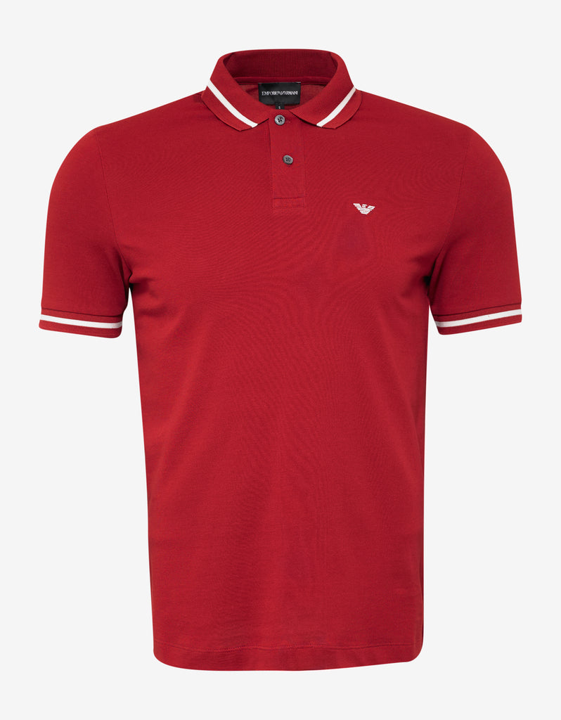 Red Eagle Logo Polo T-Shirt