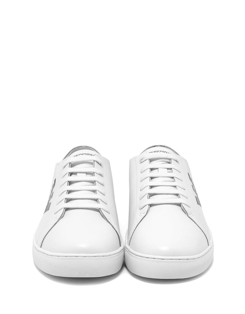 White Eagle Logo Trainers