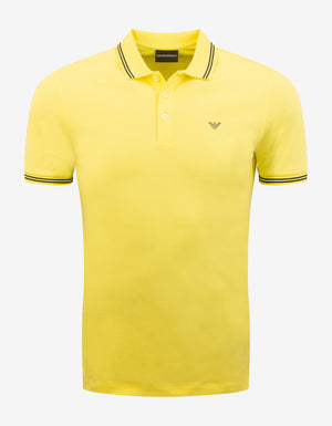 Yellow Eagle Logo Polo T-Shirt