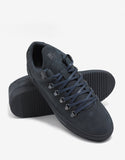 Navy Blue Ton Sur Ton Mountain Cut Trainers