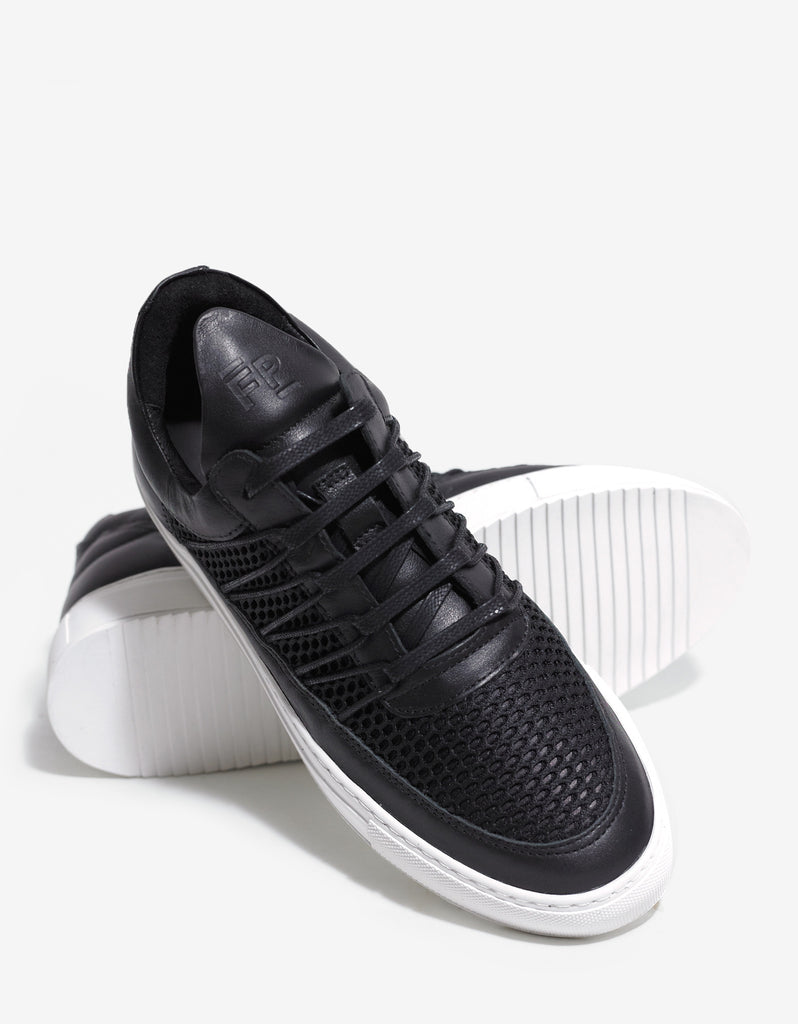 Cane Black Low Top Trainers