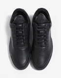 Jasper Black Low Top Trainers