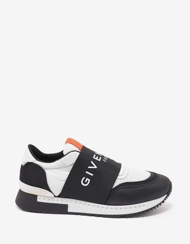 Givenchy Active Runner Elastic Logo Trainers